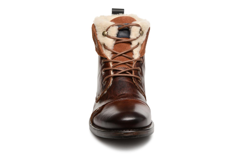 Bottines et boots Redskins Youdine Marron vue portées chaussures