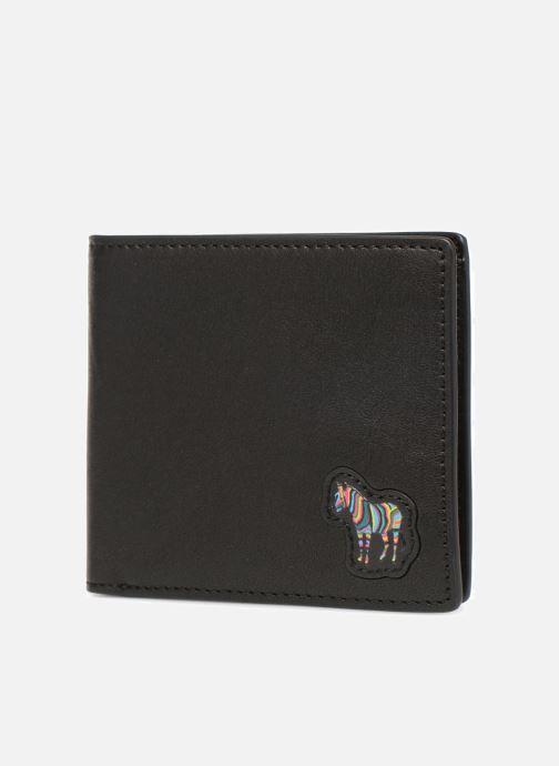 Petite Maroquinerie PS Paul Smith Men Wallet Billfold Zebra Noir vue portées chaussures