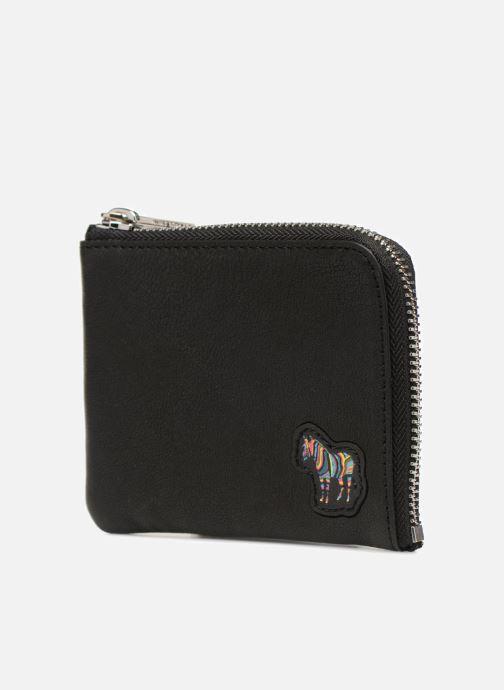 Portemonnaies & Clutches PS Paul Smith Men Corner Zip Wallet Zebra schwarz schuhe getragen