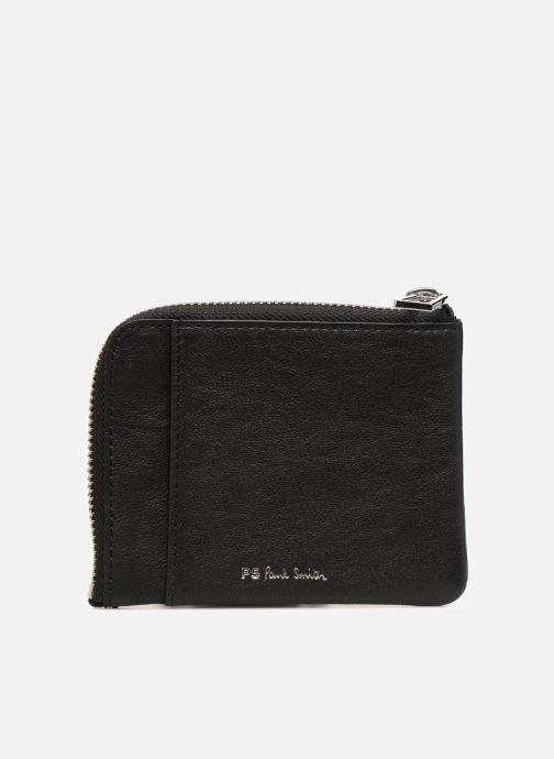 Petite Maroquinerie PS Paul Smith Men Corner Zip Wallet Zebra Noir vue face