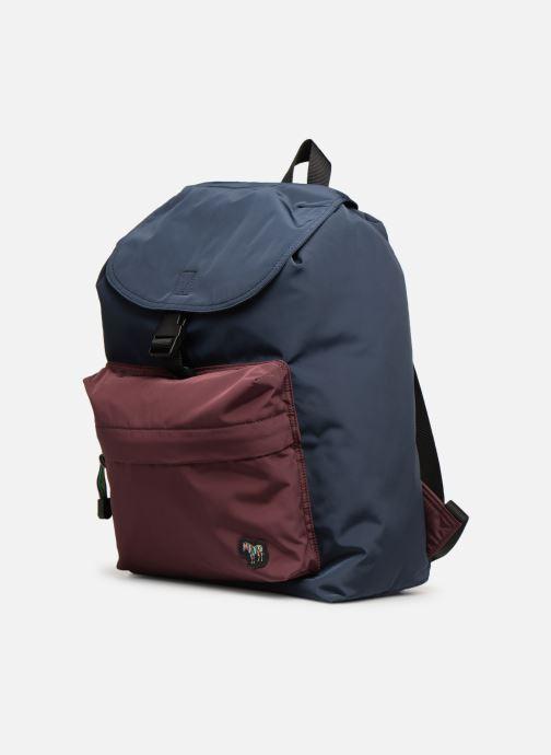 Sacs à dos PS Paul Smith Backpack Bleu vue portées chaussures
