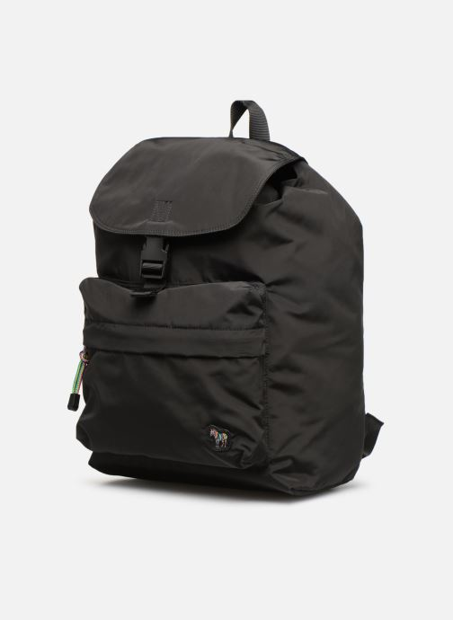 Sacs à dos PS Paul Smith Backpack Noir vue portées chaussures