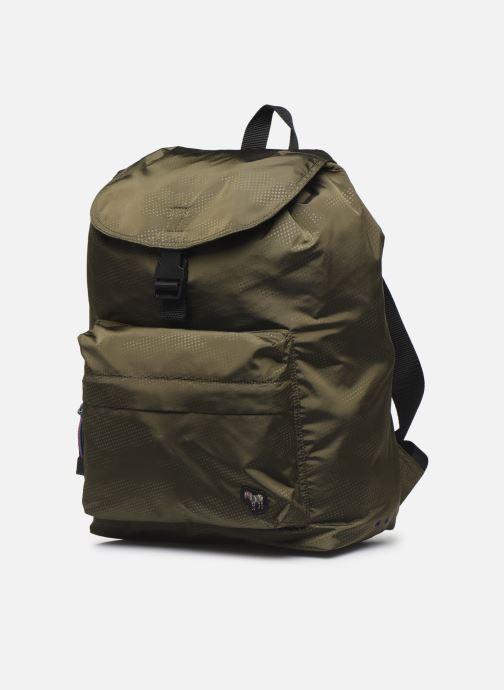 Rucksäcke PS Paul Smith Backpack grün schuhe getragen