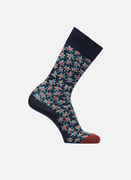 Sokken en panty's PS Paul Smith Chaussettes Men Sock Torn Floral Blauw detail