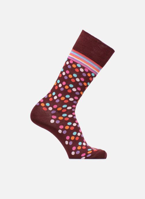Sokken en panty's PS Paul Smith Chaussettes Men Sock Cash Spot Bordeaux detail
