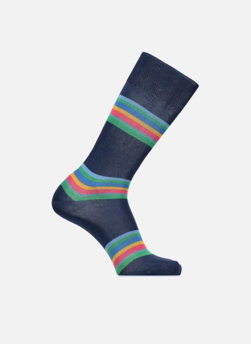 Sokken en panty's PS Paul Smith Chaussettes Men Sock Kem Stripe Blauw detail