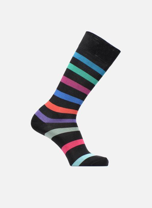 Sokken en panty's PS Paul Smith Chaussettes Men Sock Look Stripe Zwart detail