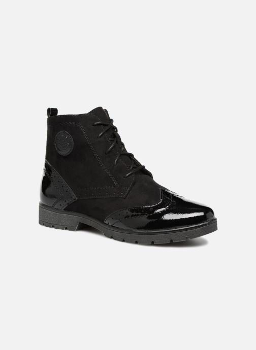 Ankle boots Jana shoes LOREL Black detailed view/ Pair view