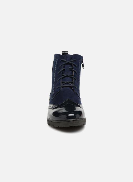 Ankle boots Jana shoes LOREL Blue model view