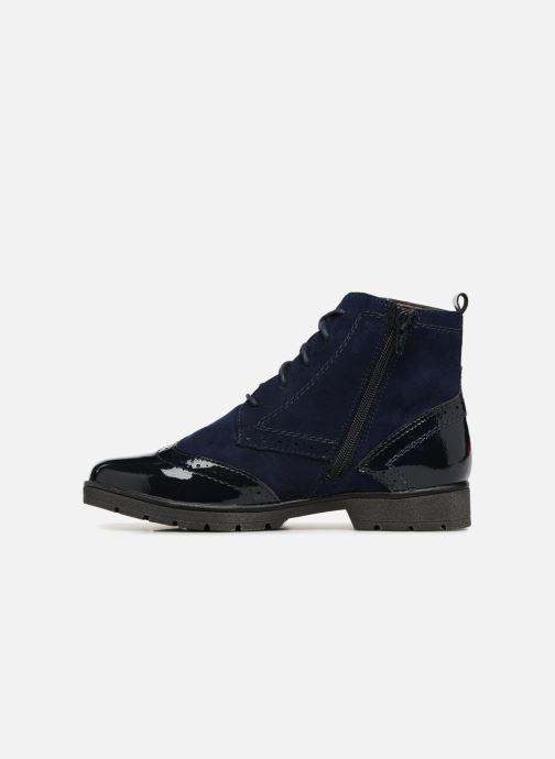 Ankle boots Jana shoes LOREL Blue front view