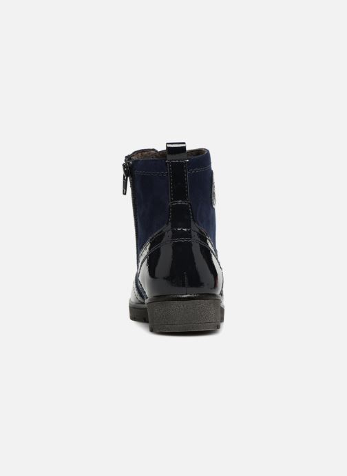 Ankle boots Jana shoes LOREL Blue view from the right