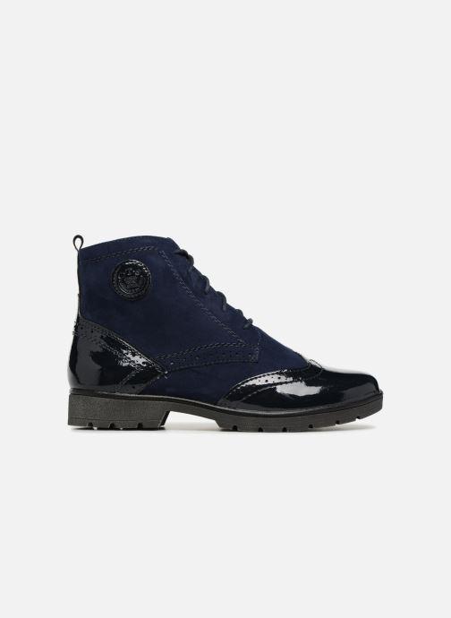 Ankle boots Jana shoes LOREL Blue back view