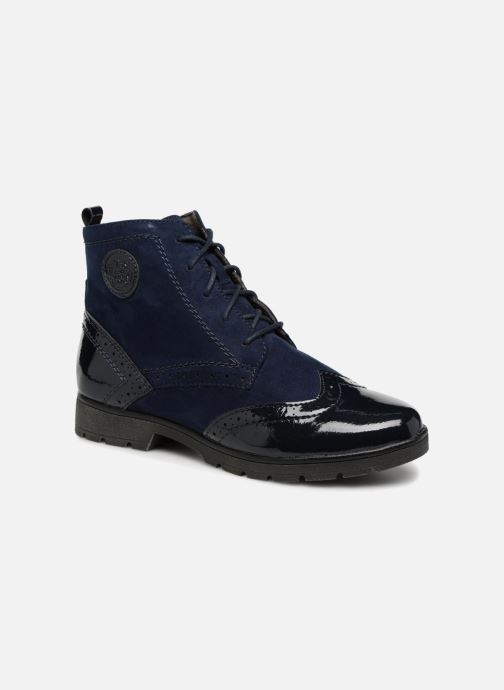 Ankle boots Jana shoes LOREL Blue detailed view/ Pair view