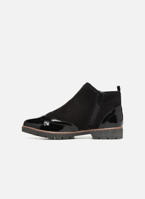Ankle boots Jana shoes AMBER Black front view