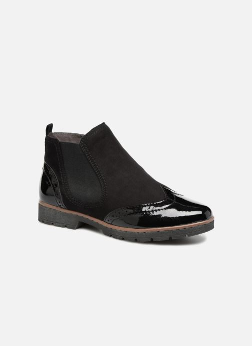 Ankle boots Jana shoes AMBER Black detailed view/ Pair view