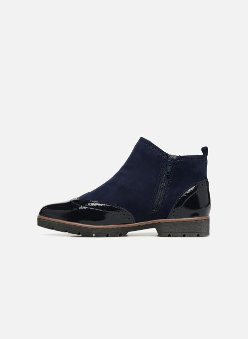Ankle boots Jana shoes AMBER Blue front view