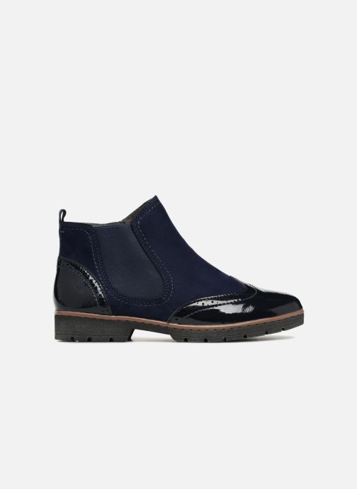 Ankle boots Jana shoes AMBER Blue back view