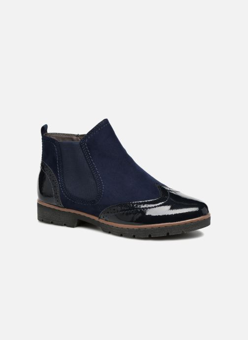Ankle boots Jana shoes AMBER Blue detailed view/ Pair view