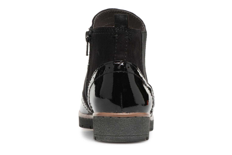 Bottines et boots Jana shoes AMBER Noir vue droite