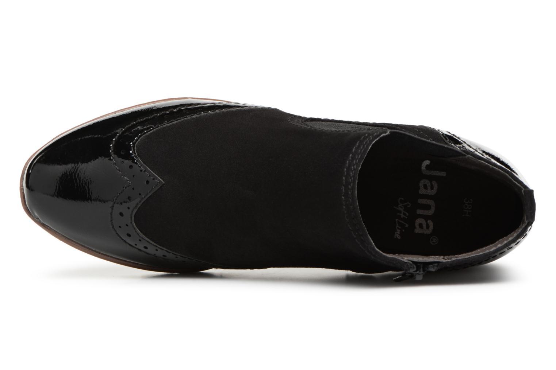 Bottines et boots Jana shoes AMBER Noir vue gauche
