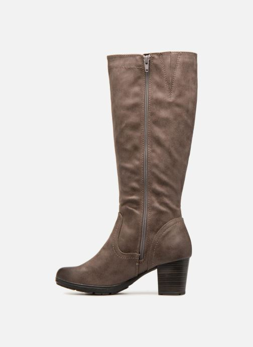Boots & wellies Jana shoes KATHRIN Brown front view