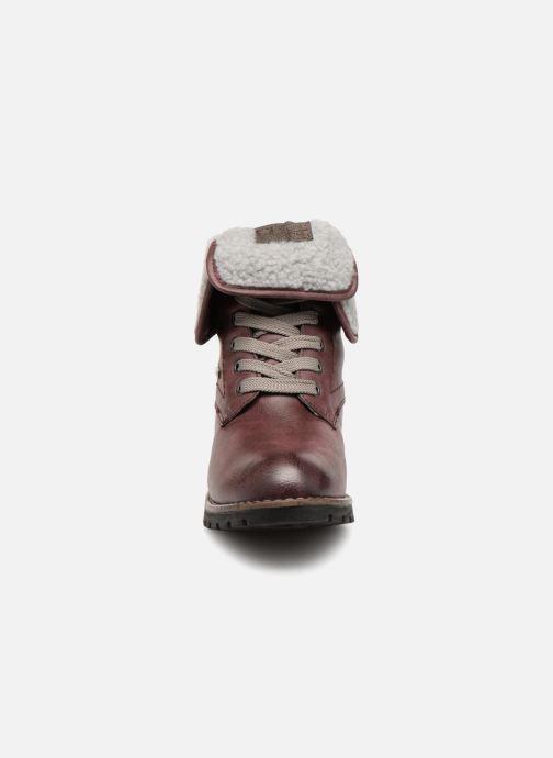 Bottines et boots Jana shoes RUT Bordeaux vue portées chaussures