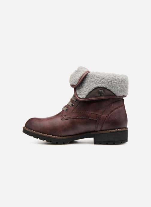 Bottines et boots Jana shoes RUT Bordeaux vue face