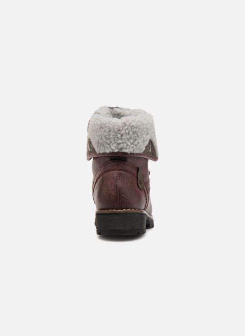 Bottines et boots Jana shoes RUT Bordeaux vue droite