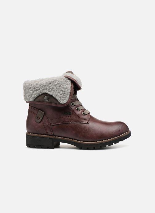 Bottines et boots Jana shoes RUT Bordeaux vue derrière