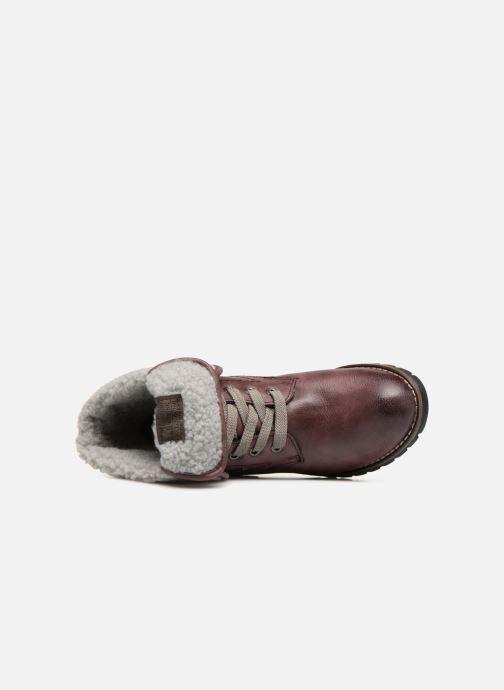 Bottines et boots Jana shoes RUT Bordeaux vue gauche