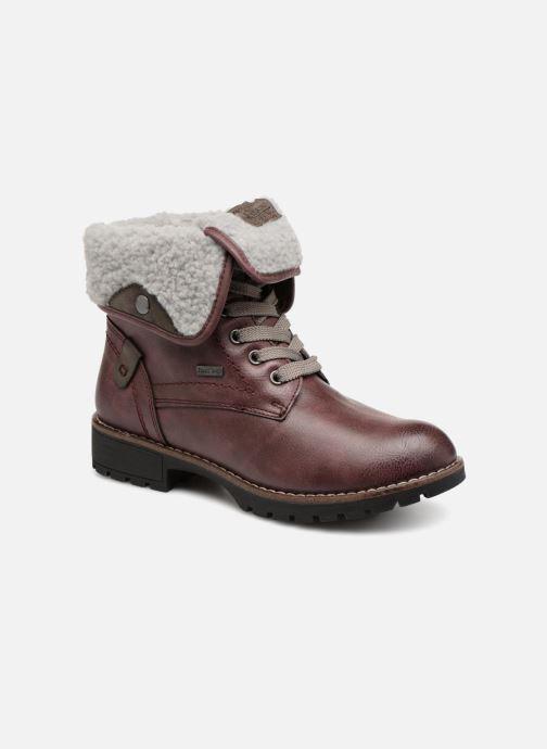 Bottines et boots Jana shoes RUT Bordeaux vue détail/paire