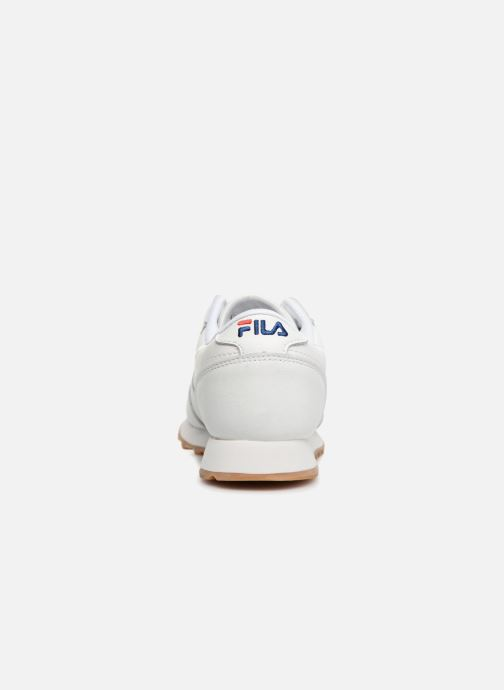 Baskets FILA Orbit Jogger Low W Blanc vue droite