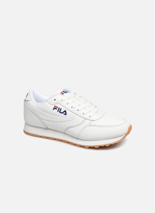 Baskets FILA Orbit Jogger Low W Blanc vue détail/paire