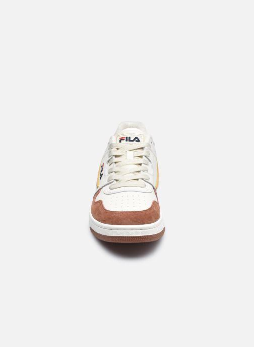 Sneaker FILA Arcade Low braun schuhe getragen