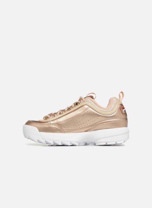 Sneakers FILA Disruptor MM Low W Goud en brons voorkant