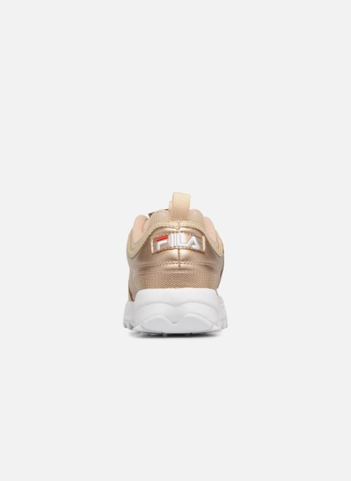 Sneakers FILA Disruptor MM Low W Goud en brons rechts