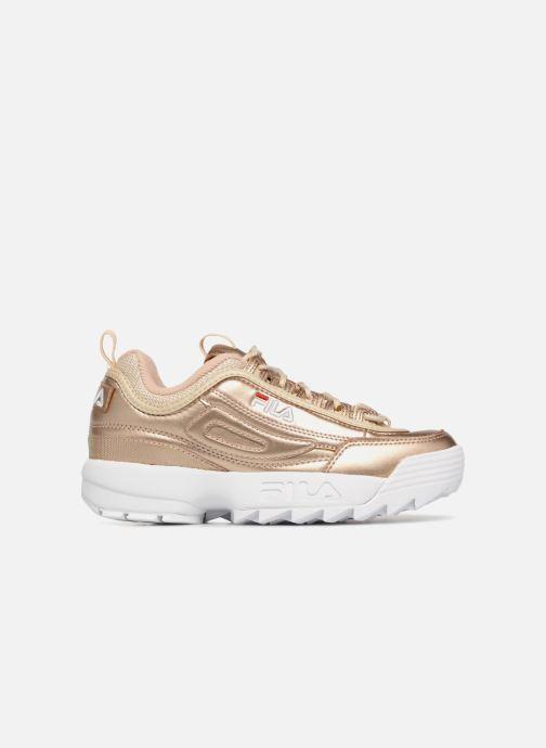 Sneakers FILA Disruptor MM Low W Goud en brons achterkant
