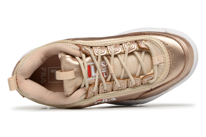 Sneakers FILA Disruptor MM Low W Goud en brons links