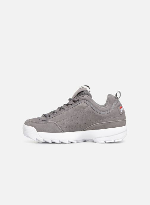 Baskets FILA Disruptor S Low Gris vue face