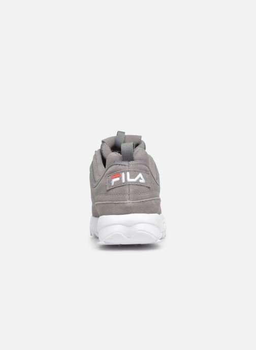 Trainers FILA Disruptor S Low Grey view from the right