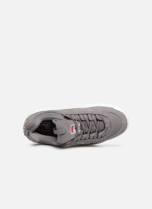 Trainers FILA Disruptor S Low Grey view from the left