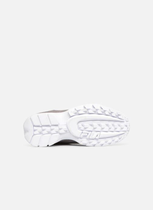 Sneaker FILA Disruptor S Low grau ansicht von oben