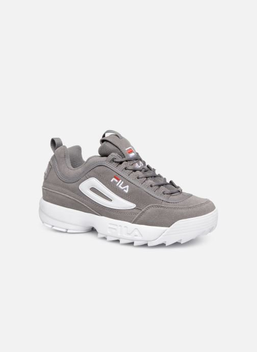 Baskets FILA Disruptor S Low Gris vue détail/paire