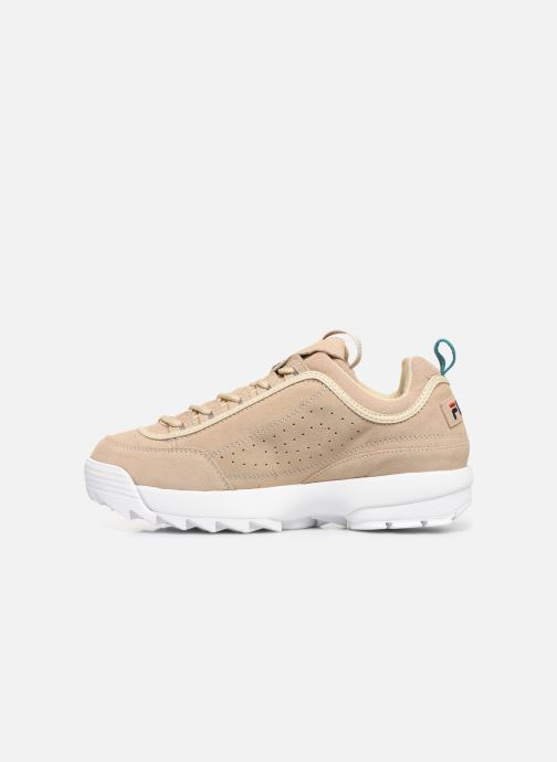 Baskets FILA Disruptor S Low Beige vue face