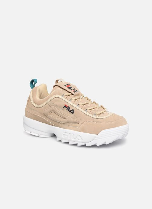 Baskets FILA Disruptor S Low Beige vue détail/paire