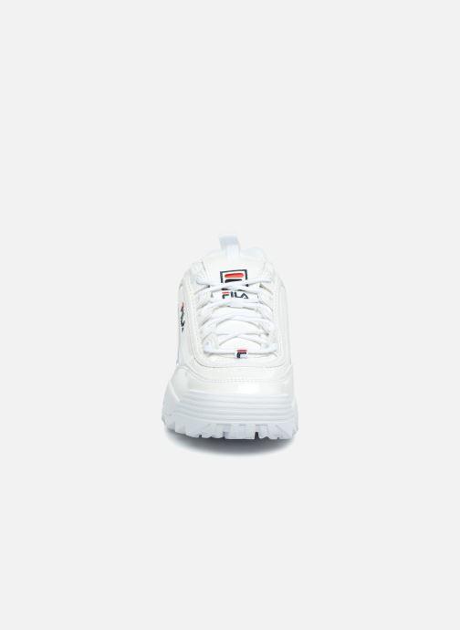 Baskets FILA Disruptor M Low W Blanc vue portées chaussures