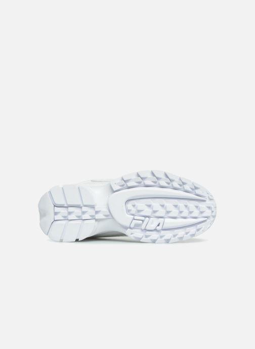 Baskets FILA Disruptor M Low W Blanc vue haut