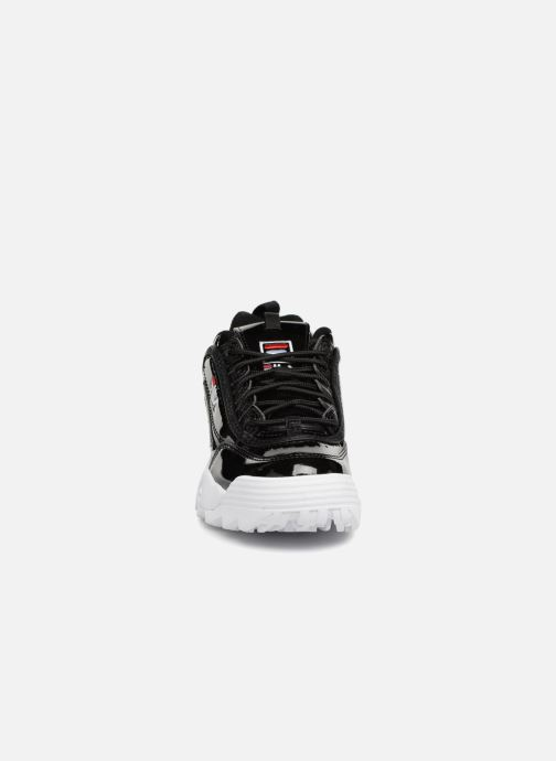 Baskets FILA Disruptor M Low W Noir vue portées chaussures