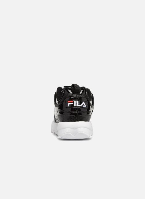 Baskets FILA Disruptor M Low W Noir vue droite