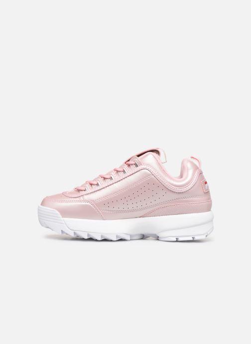 Sneakers FILA Disruptor M Low W Pink se forfra